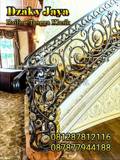 Railing Besi Tempa Modern Klasik