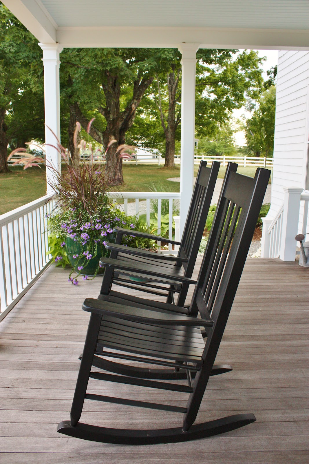 for the love of a house summer porches. Black Bedroom Furniture Sets. Home Design Ideas