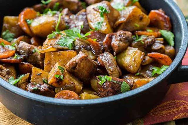 Chicken and Veggies Paleo Recipe