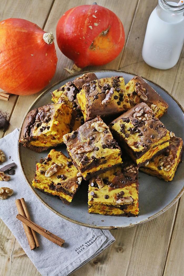 schoko kà rbis brownies mit walnà ssen fashion kitchen bloglovin