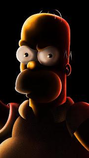 Homer Simpson Mobile HD Wallpaper