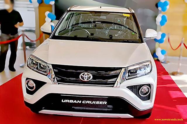 Toyota's Urban Cruiser SUV is a re-badged version of the Maruti Suzuki Vitara Brezza