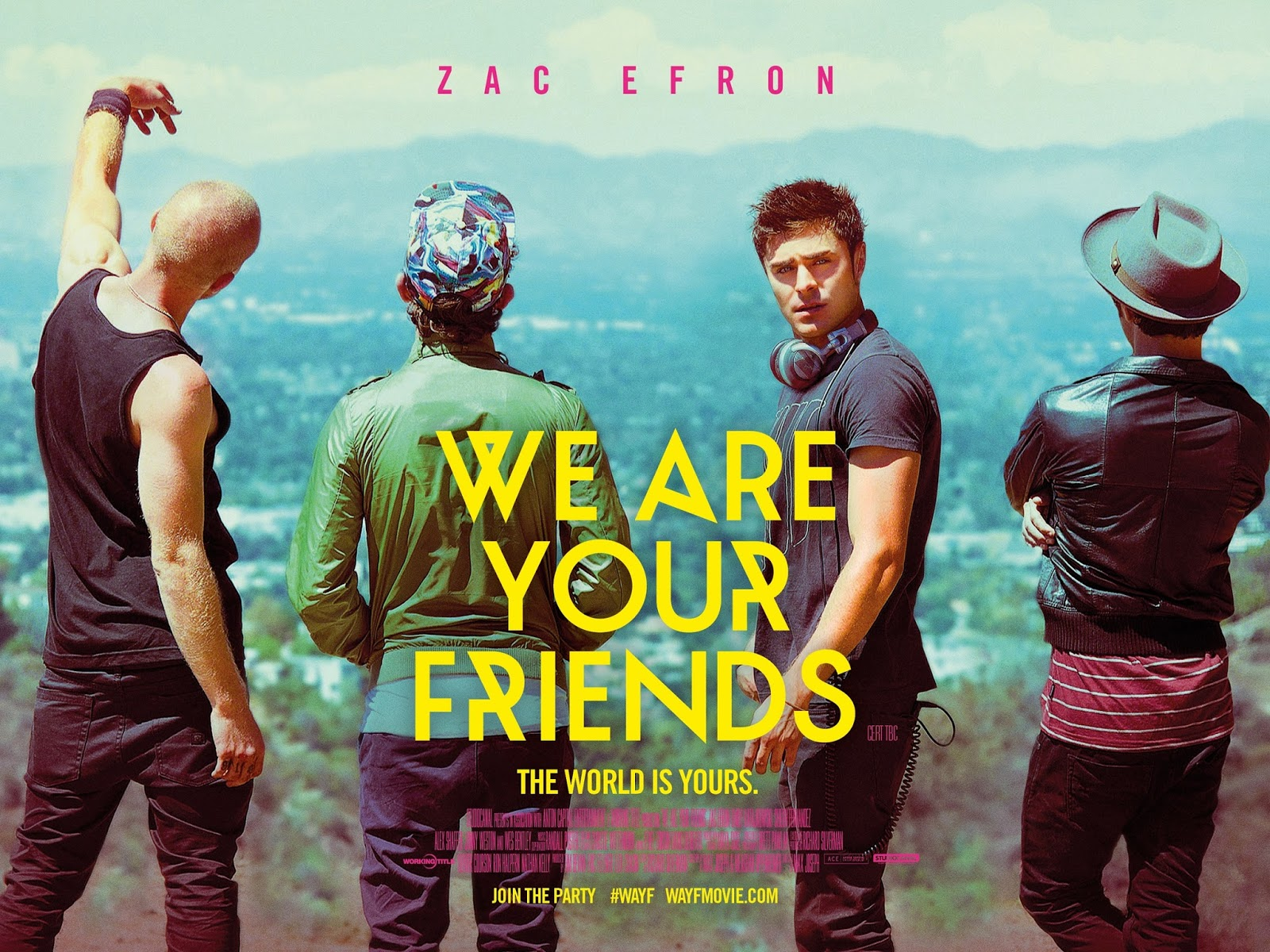 Attractive Words Deserves To Publicized We Are Your Friends Movie