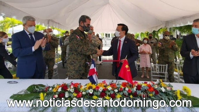 China dona 148 vehículos de uso militar a República Dominicana