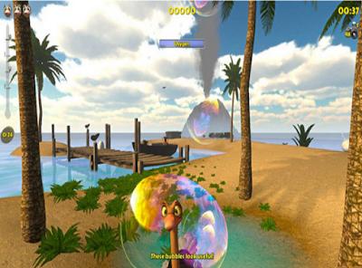 鴕鳥海島歷險記(Ostrich Island),非常另類的3D動作探索冒險!