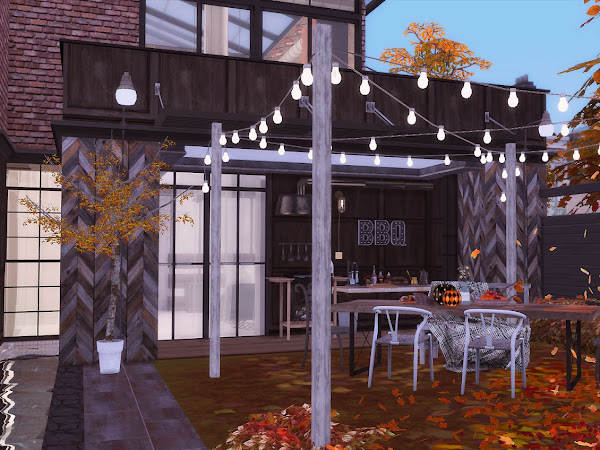 Sims 4  The Man Cave  男人窩