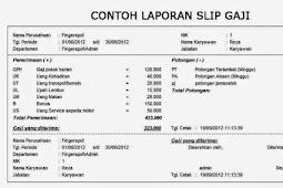 Contoh-Contoh Slip Honor Karyawan Perusahaan