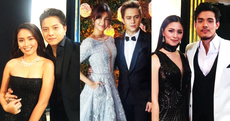 Kapamilya hottest loveteams at the Star Magic Ball 2016