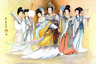 lukisan tenun sutra yang indah karya permaisuri leizu pada zaman dinasati qin