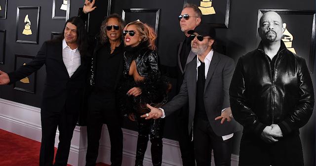 Ice-T 'no tienbe ningún problema' Con la colaboración de Metallica con Lady Gaga