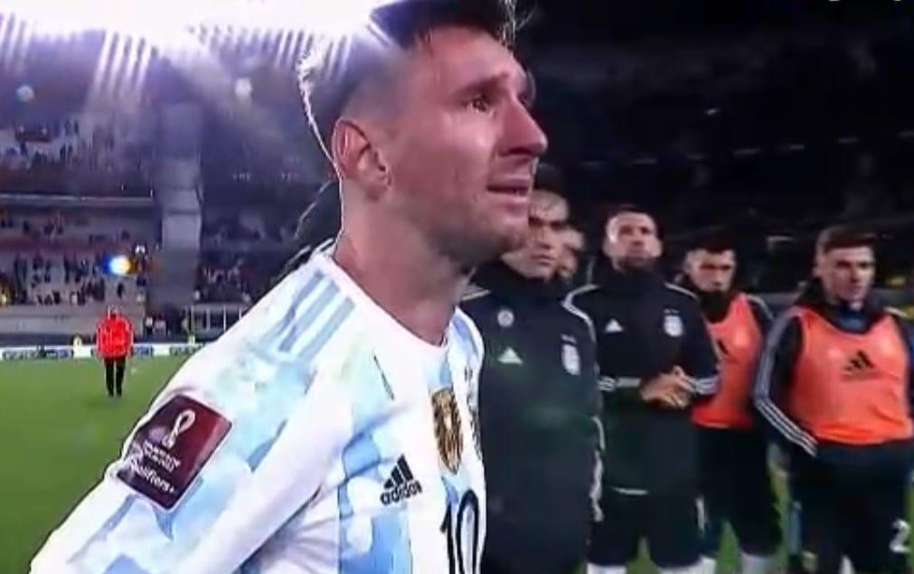 """Messi, hasta las lágrimas: """"Esperé mucho tiempo por esto"""""""