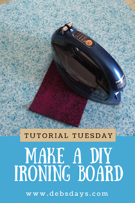 Homemade DIY Ironing and Pressing Board Project