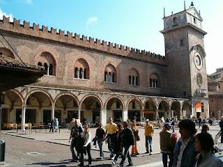 The Palazzo della Ragione in the centre of Mantua