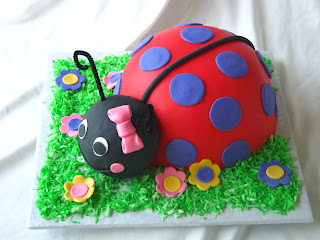 Ladybug Cake with a Bright Twist