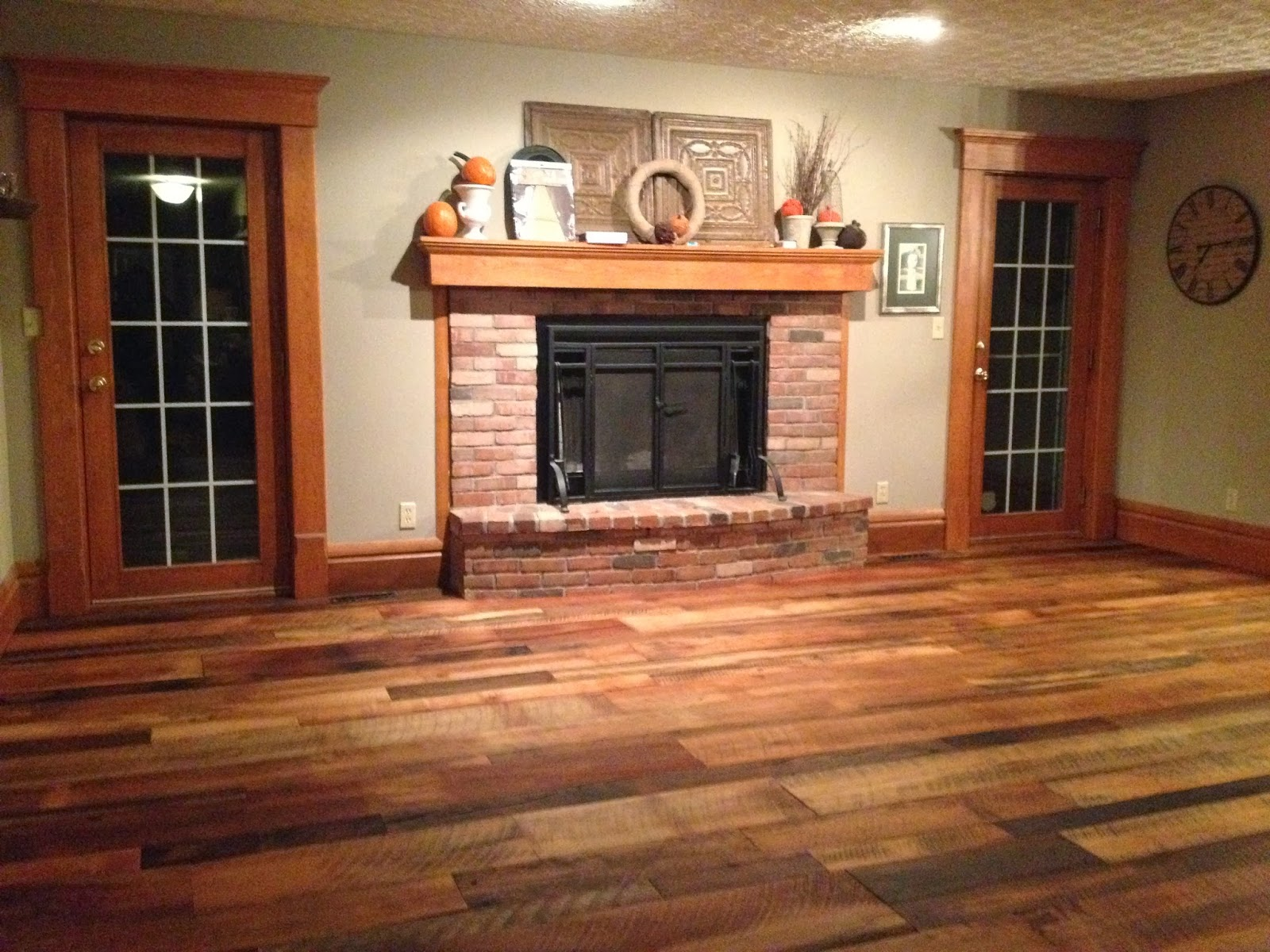 Vintage Restyled Reclaimed Barn Wood Floors