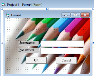 Cara membuat login di Visual Basic 6.0