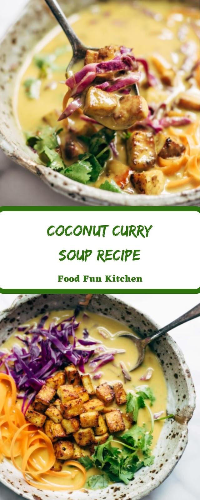 COCONUT CURRY SOUP RECIPE