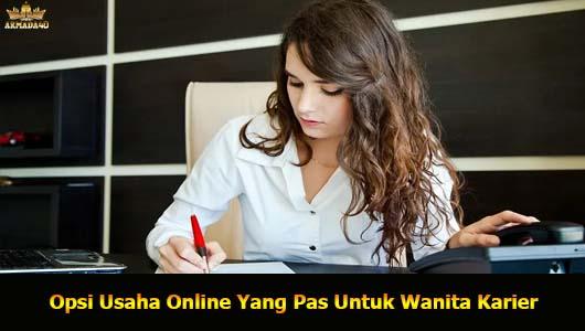 Opsi Usaha Online Yang Pas Untuk Wanita Karier