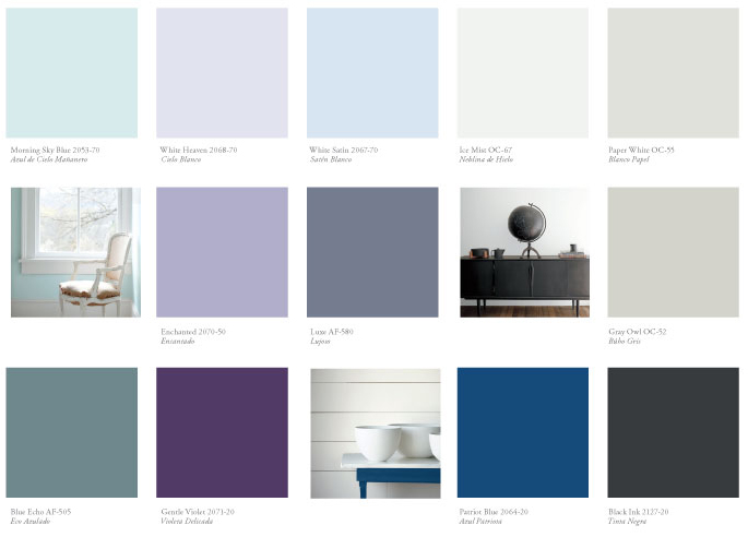 Benjamin Moore Color Forecast For 2016