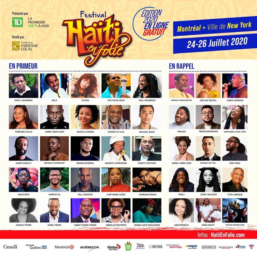 Une  Programmation riche pour la 14e édition de Haïti en Folie
