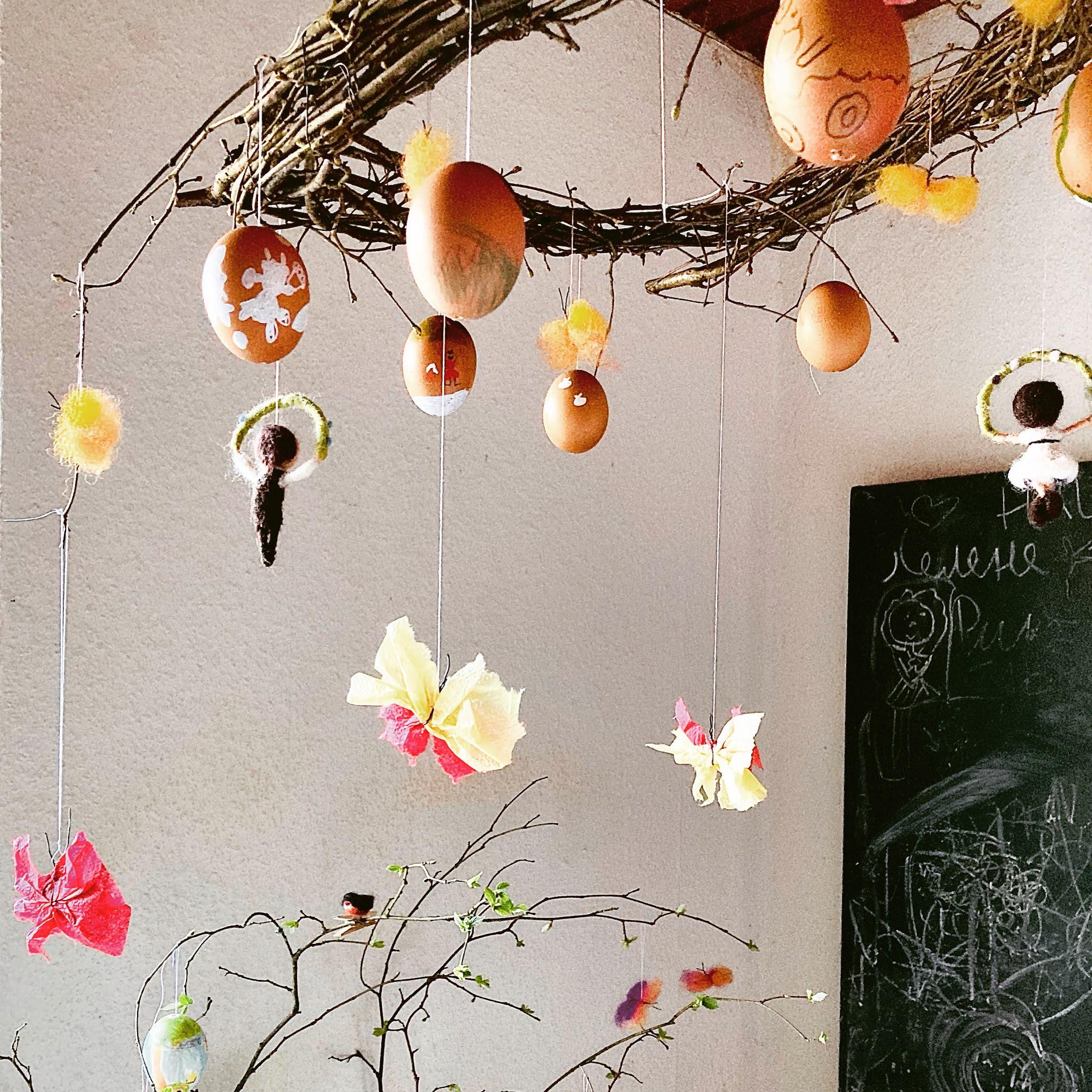 die guten Dinge Schmetterlinge basteln DIY