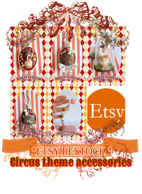 Etsy RESTOCK : Circus Theme accessories