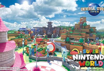 Super Nintendo World - así será el parque temático