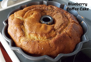 Blueberry Cinnamon Coffee Cake from The Princess & Her Cowboys
