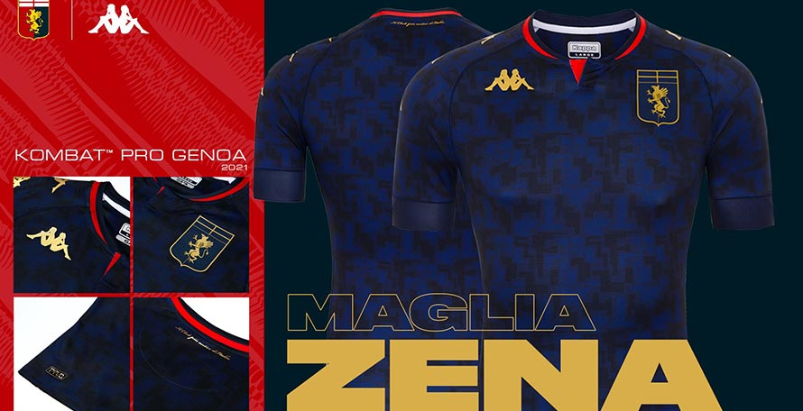 Genoa 20-21 Third Kit Released - Footy Headlines