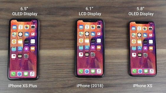 تسريبات لهواتف ابل القادمة | IPHONE XS و XS PLUS و iPhone 9