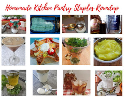 Homemade Kitchen Pantry Staples Roundup
