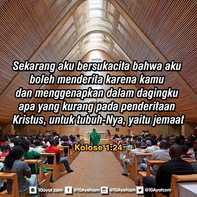 Kolose 1:24