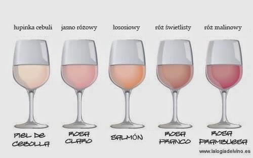 Różowe wina i ich odcienie