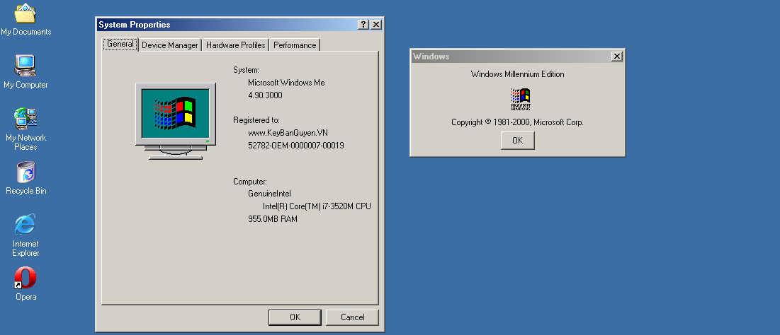 Download và cài đặt Windows ME , Miền ký ức dữ dội của IT thế hệ 7X - 8X