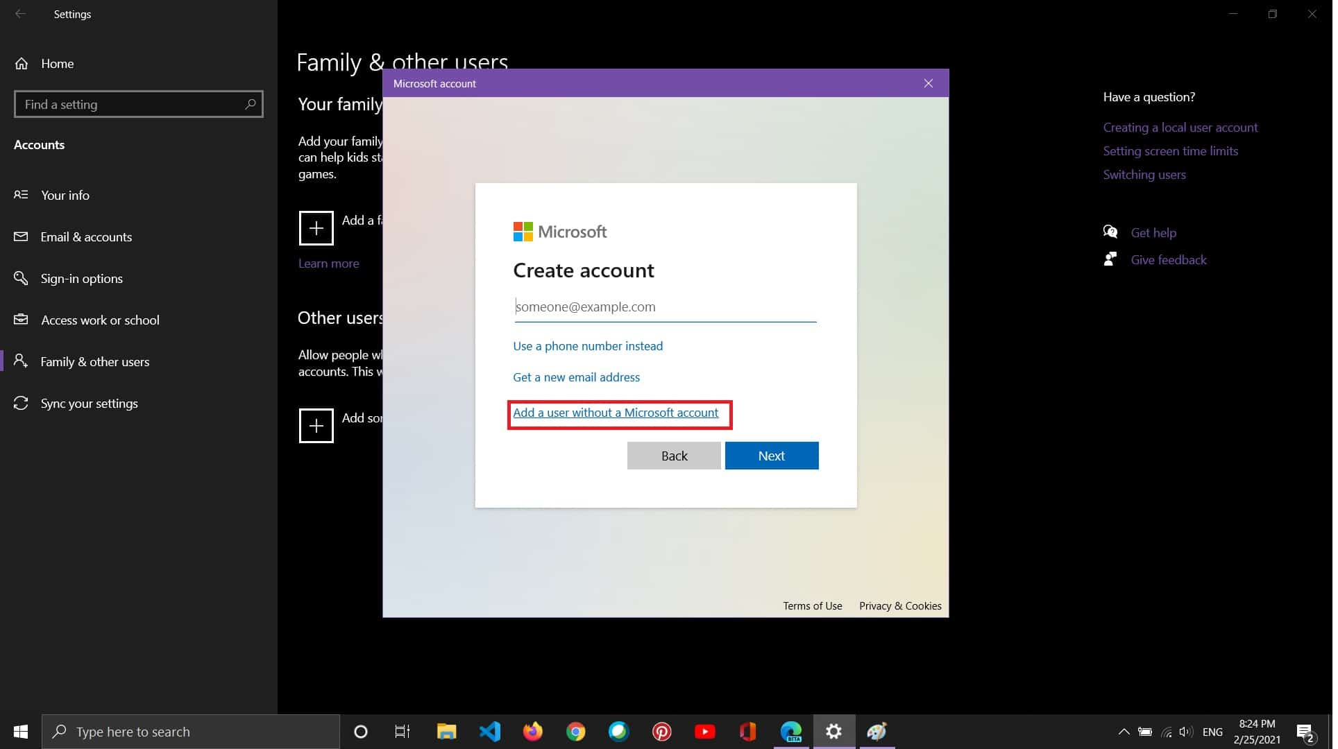 [FIXED] - Windows shell experience host suspended! - how to create use account in windows