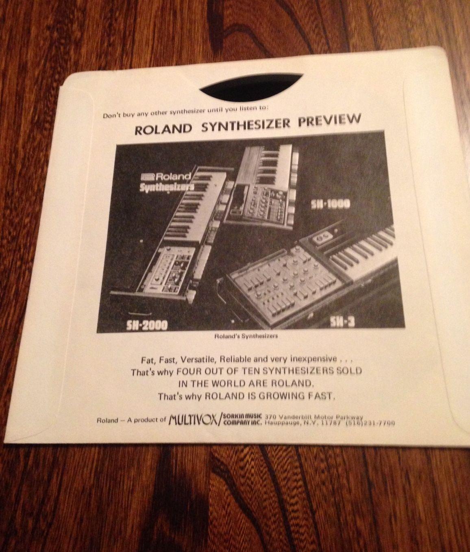 MATRIXSYNTH: Vintage Roland Brochures & Demo Record