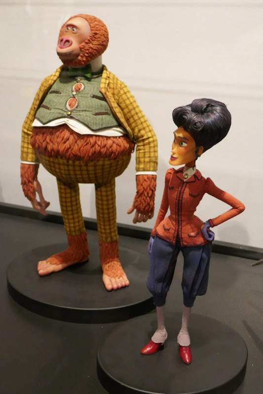 Missing Link stopmotion animation puppets