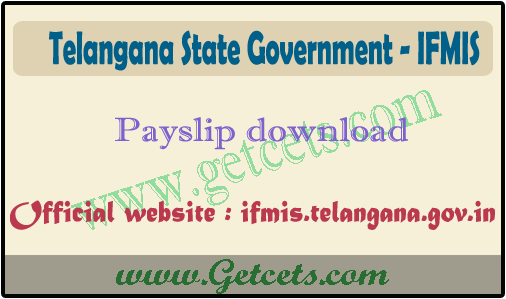 TS Pay slip 2021 ifmis download @ ifmis.telangana.gov.in