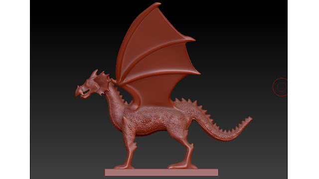 dragon 3d model free download