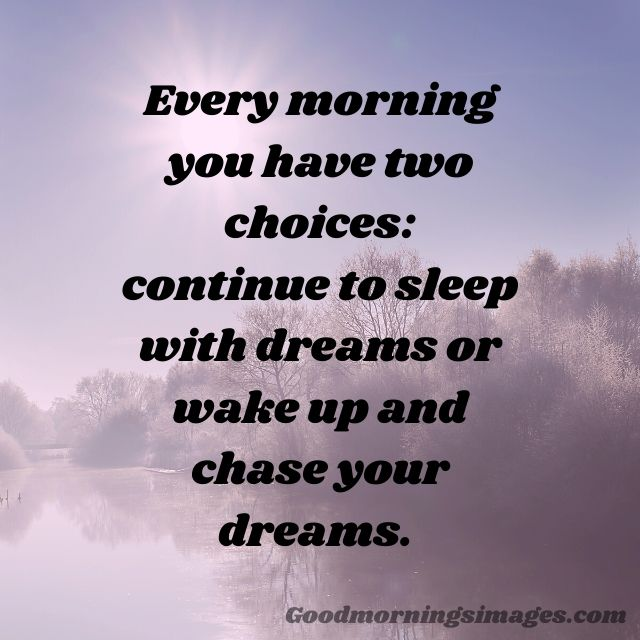 good morning images with quotes on life
