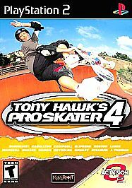Download Tony Hawk's Pro Skater 4 PS2 ISO