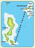Peta Lokasi Pantai Malo, Kokorotan, Sulawesi Utara
