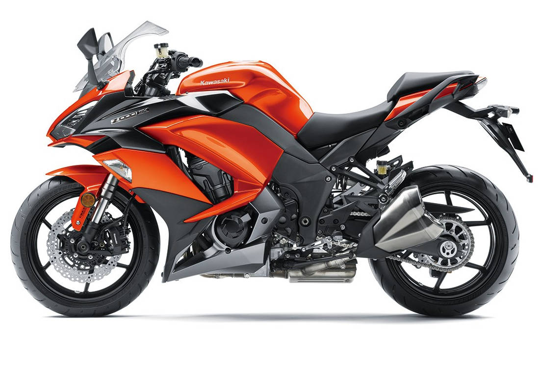 Обои спортивный, z 1000 sx, profile, Kawasaki, Мотоцикл. Мотоциклы foto 13