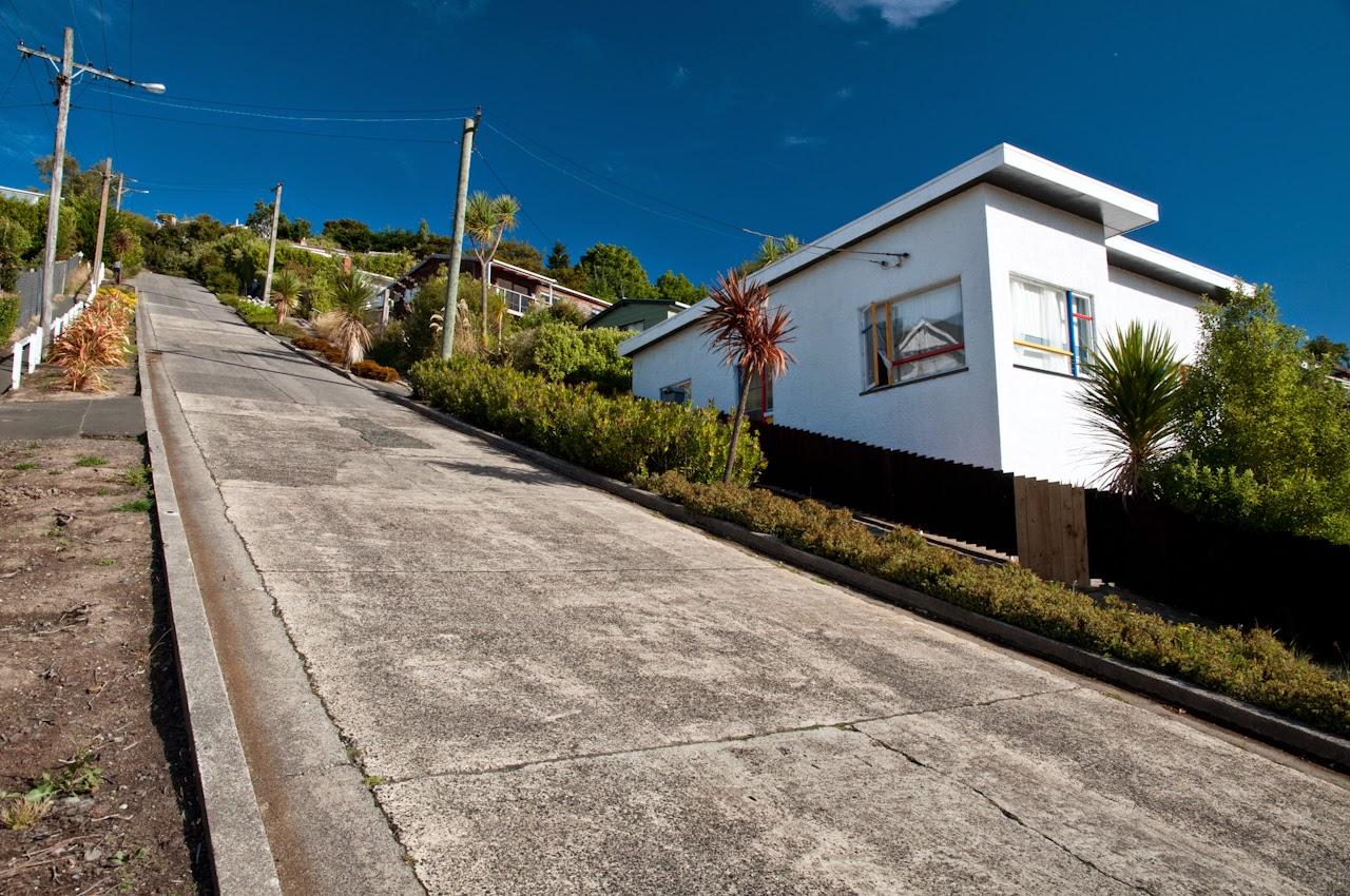 Las calles más empinadas del mundo. Baldwin Street, Dunedin, Nueva Zelanda