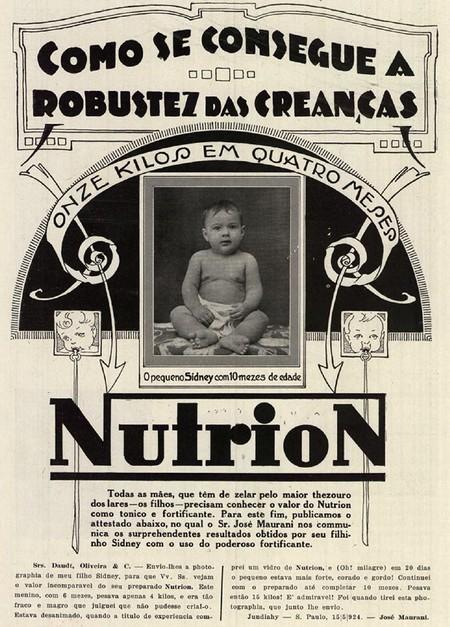 Campanha do Fortificante Nutrion para aumentar o peso de crianças desnutridas