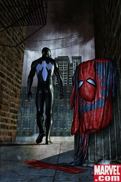 mY BraiN WaVes...: How Spiderman Got The Alien Suit (Black ...