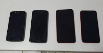 Casal é preso por roubar celulares em MT