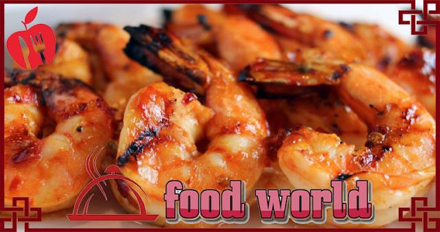 healthy grilled shrimp