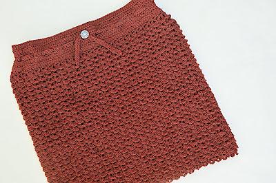 3 - Crochet Imagen Falda verde a crochet y ganchillo sencilla facil DIY por Majovel Crochet