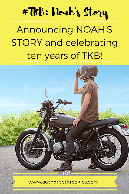 Announcing NOAH'S STORY on Wattpad, celebrating ten years of the Kissing Booth